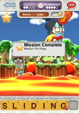 Completed Mission Indication